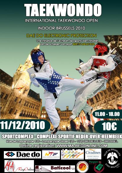 Martial Arts Registration Online - Indoor Brussels 2010